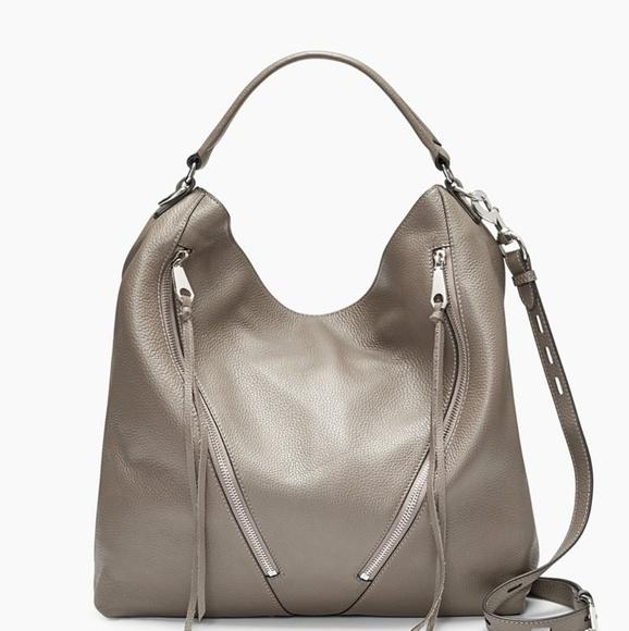 Rebecca Minkoff Handbags - Rebecca Minkoff Moto Hobo in Graphite